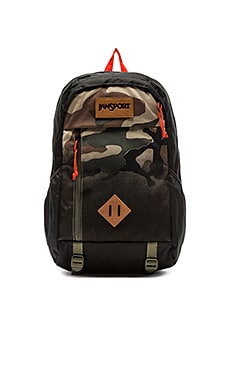 Jansport Fox Hole in Black Camo Fade