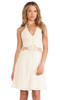 JARLO Siobhan Mini Dress in Cream