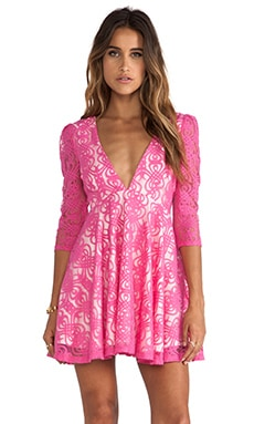 JARLO Sylvia Mini Dress in Pink