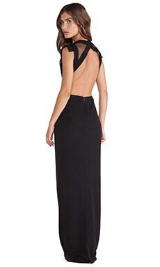 JARLO Marlin Maxi Dress in Black
