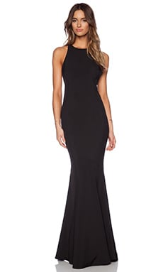 JARLO Carmelita Maxi Dress in Black
