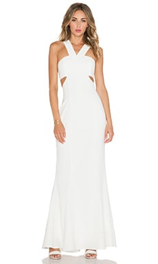 JARLO Daciana Maxi Dress in Ivory