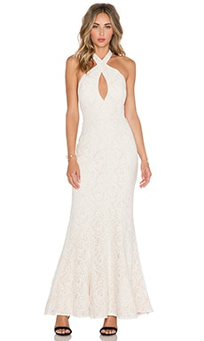 JARLO Priscilla Maxi Dress in Ivory