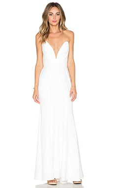 JARLO Helena Maxi Dress in Ivory