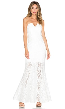 JARLO Annabel Maxi Dress in White