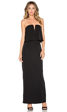 JARLO Poppy Maxi Dress in Black