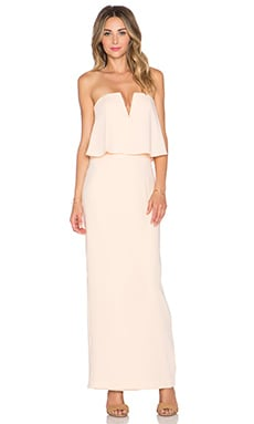 JARLO Poppy Maxi Dress in Nude