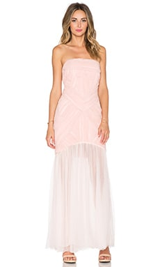 JARLO Felicity Maxi Dress in Blush