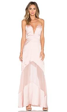 JARLO Elizabeth Maxi Dress in Blush