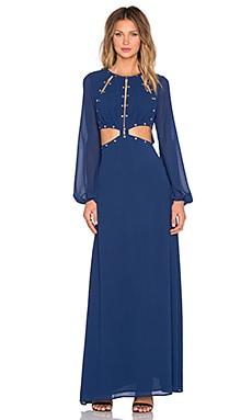 JARLO Venus Gown in Navy
