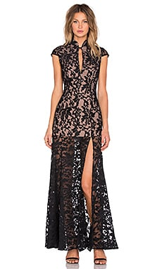 JARLO Samantha Gown in Black