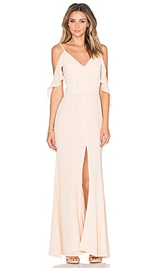 JARLO Cora Dress in Nude