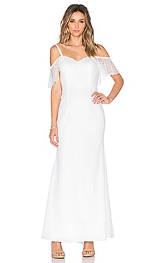 JARLO Natalya Dress in Ivory