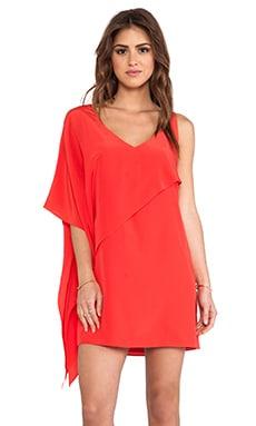 Jay Godfrey Nugent Dress in Red