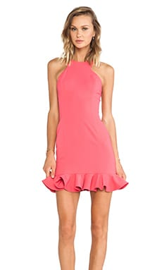 Jay Godfrey Abigail Dress in Watermelon