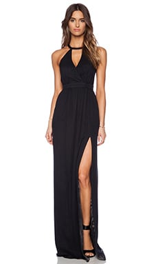 Jay Godfrey Dallenbach Backless Gown in Black
