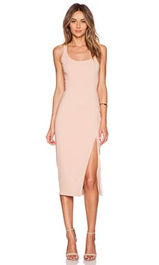 Jay Godfrey Witherspoon Dress in Nude