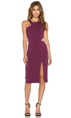 Jay Godfrey Essex Dress in Plum