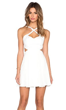 Jay Godfrey Perla Dress in Light Ivory
