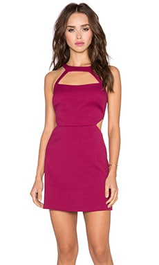 Jay Godfrey Avalon Dress in Berry