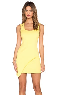 Jay Godfrey Bristol Dress in Yellow