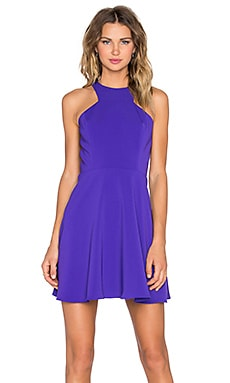 Jay Godfrey Havel Dress in Indigo