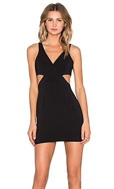 Jay Godfrey Royale Dress in Black