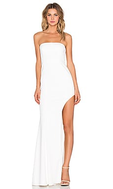 Jay Godfrey Harrison Dress in Light Ivory