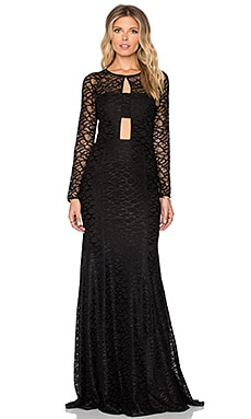 Dorval Maxi Dress in Black