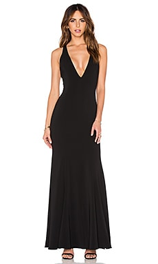 Abbotsford Maxi Dress en Noir