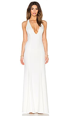 Jay Godfrey Abbotsford Maxi Dress in Light Ivory