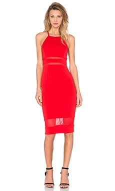Jay Godfrey Mcguinn Dress in Red