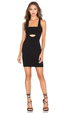 Jay Godfrey Rush Dress in Black