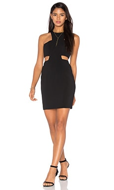 Jay Godfrey Elmore Dress in Black