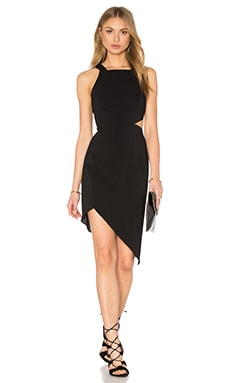 Jay Godfrey Aikens Dress in Black