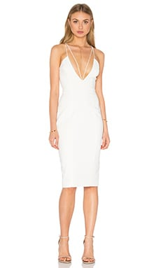 Jay Godfrey Alexander Dress in Light Ivory