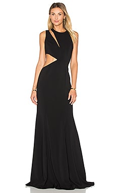 Lagos Gown in Black