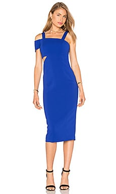 Jay Godfrey Verlaine Dress in Electric Blue