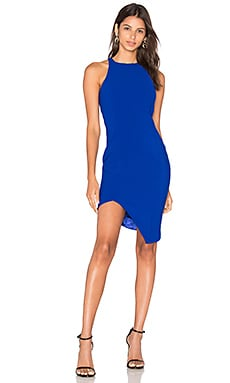 Gallagher Dress en Cobalt