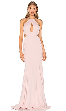 Sao Paulo Gown in Blush