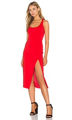 Witherspoon Dress in Bright Red