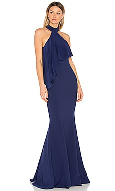 Franklin Gown in Eclipse Blue