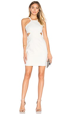 Robbins Dress in Light Ivory