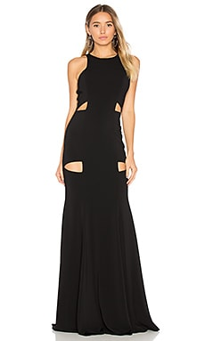 Becker Gown in Black