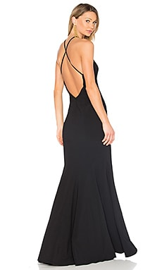 Kirani Gown in Black