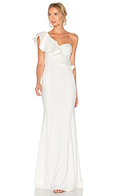 Bolt Gown in Light Ivory