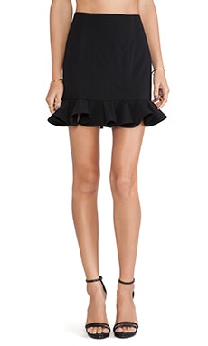 Jay Godfrey Felder Skirt in Black