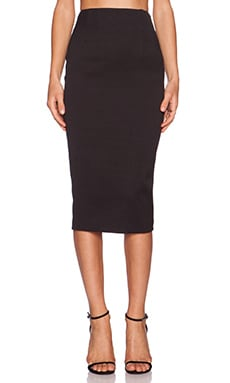 Jay Godfrey Akoya Skirt in Black