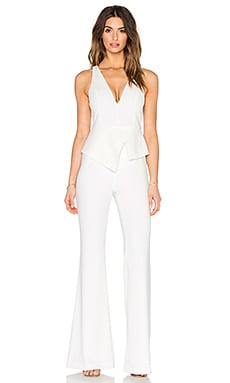 Jay Godfrey McMurry Jumpsuit in Light Ivory