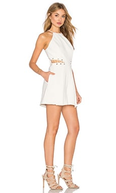 Millar Romper in Light Ivory